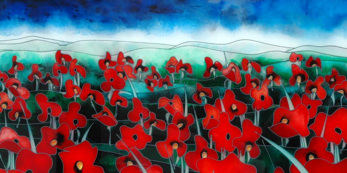 Cruciani Gallery Poppies